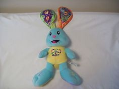 Stuffed Animal Laugh & Learn Bunny Rabbit Fisher Price Plush Toy Educational
