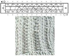 Long loom knitting stitches