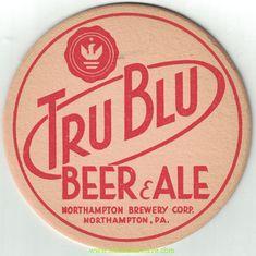 Tru Blu Beer Coaster Beer Coasters, Brewery, Whiskey, Ale, Whisky, Ale Beer, Ales, Beer