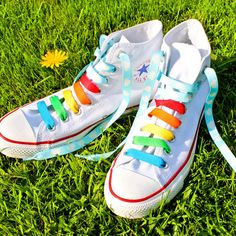Customise your feet by changing your shoe-laces