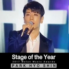 Congratulations Park Hyo Shin!❤ 2/12/17 - MMA