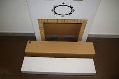 Výsledok vyhľadávania obrázkov pre dopyt decoracion de chimeneas de carton