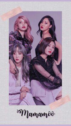 Mamamoo Hwasa Moonbyul Solar Wheein K-pop Wallpaper Lockscreen HD Fondo de pantalla Kpop Girl Groups, Korean Girl Groups, Kpop Girls, Solar Mamamoo, Heo Young Saeng, Wheein Mamamoo, Kpop Aesthetic, K Idols, South Korean Girls
