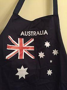 ☀100 Cotton Australia Flag Apron☀ Cooking Australian Aussie Chef Souvenir BBQ | eBay