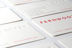 Fernwood - Business Card Design Inspiration | Card Nerd
