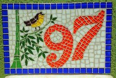 Numero em mosaico, by By Sejii Higa Mosaico