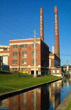 hershey pennsylvania | The Hershey Foods facility in Hershey, PA. In its founder's living ...