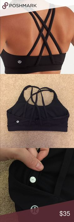 Lululemon energy bra size 10 EUC Lululemon energy bra- size 10! This is a classic Lulu piece! In EXCELLENT used condition. lululemon athletica Intimates & Sleepwear Bras
