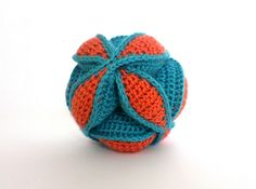 Amish Puzzle Ball - crochet