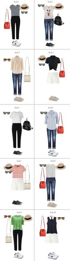 dicas de como arrumar a mala para a Disney com looks básicos e práticos