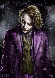 Introduce a little anarchy. Upset the established order. And everything becomes....... Chaos.  The Joker