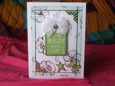 Your the best Card Best Present of All Card Thank by 4SeasonCards, €6.50