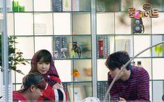 Park Bom  PArk Min Woo Roommate so cute