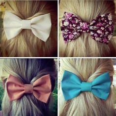 hair bow colors