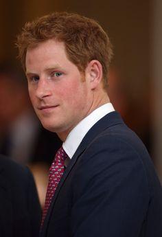 Prince Harry in Washington DC 9 May 2013  Grew up looking good!.