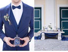 Hochzeitsinspirationen in Eisblautönen von Barbara Wenz