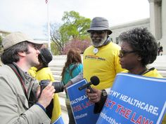 National Committee to Preserve Social Security and Medicare Rally Corps member is interviewed outside the Supreme Court about her support for healthcare reform: http://www.ncpssm.org/entitledtoknow/?p=2267