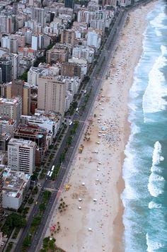 brazil, rio de janeiro, leblon beach