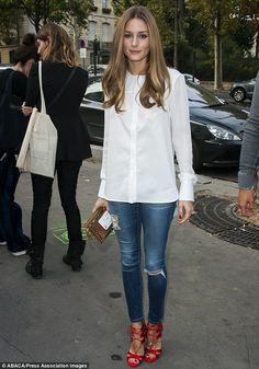 Olivia Palermo | Paris Fashion Week