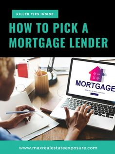 How to Pick a Mortgage Lender. See Some of The Best Tips For Choosing an Exceptional Lender to Work With When Buying a Home at Maximum Real Estate Exposure. Best Mortgage Lenders, Mortgage Companies, Mortgage Tips, Mortgage Humor, Refinance Mortgage, Mortgage Calculator, Real Estate Articles, Real Estate Information, Real Estate Tips