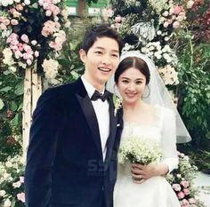 Mr. And Mrs. Song Joong Ki❤