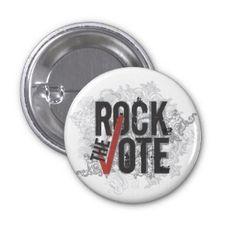Rock the Vote Button