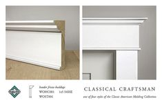 CLASSICAL CRAFTSMAN HEADER MOLDING BUILDUP by WindsorONE, via Flickr