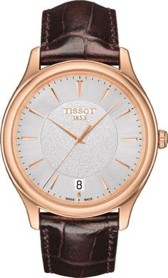 @tissot  Watch Fascination #add-content #basel-16 #bezel-fixed #bracelet-strap-leather #brand-tissot #case-depth-7-5mm #case-material-rose-gold #case-width-40mm #date-yes #delivery-timescale-1-2-weeks #dial-colour-silver #gender-mens #luxury #movement-quartz-battery #new-product-yes #official-stockist-for-tissot-watches #packaging-tissot-watch-packaging #style-dress #subcat-t-gold #supplier-model-no-t9244107603100 #warranty-tissot-official-2-year-guarantee #water-resistant-30m