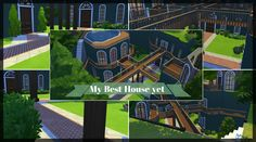The Start of Something AWESOME!!!   Sims 4   House Build   Part 1 Sims 4 House Building, House Swap, Sims 4 Houses, Good House, I Am Awesome, Geek, Mansions, House Styles, Inspiration