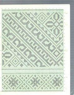 Cross Stitch Geometric, Pattern Books, Bead Weaving, Knit Crochet, Embroidery, Knitting, Lace, Straight Stitch, Bias Tape