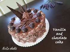 Niečo sladké: Vanilkovo-čokoládová torta Chocolate Cake, Vanilla, Chicolate Cake, Chocolate Cobbler, Chocolate Cakes, Bolo De Chocolate, Chocolate Tarts, Chocolate Chess Pie