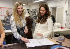 Kate Middleton Photos: Kate Middleton Visits the 'Downton Abbey' Set