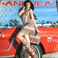 Such a pretty dress!! Multi color western print ! Available only pre-order and sizes available are sx to L andrea Dresses