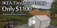 ikea better shelter for sale: ikea off grid tiny house for Off Grid Tiny House, Tiny House Loft, Tiny House Plans, Micro House, Build Your House, Building A House, Building Ideas, Modern Homesteading, Tiny Houses For Sale