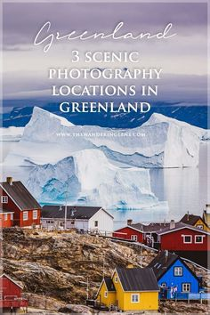 A guide to Greenland photography locations Ilulissat, Disko Island + Uummannaq. Photo tips, photo locations, icebergs + landscapes of Greenland + travel tips Greenland Iceland, Greenland Travel, Iceland Travel, Travel Europe, Travelling Europe, European Travel, Vacations To Go, Travel Inspiration, Travel Ideas