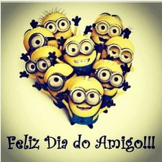 Happy Friends Day!!!! Feliz Dia do Amigo!!!! ❤