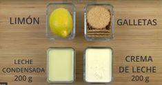 Aprende Cómo Hacer un Rico Postre de Limón con Galletas María en 5 Minutos y sin Horno- Receta - SALUDYHOGAR