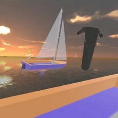 Multiplayer sailing #htcvive #future #friends #sailor