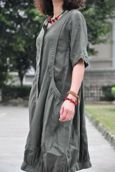 Big heart/two big pockets pleated special hem long colors/custom made. Mori Girl Fashion, Funky Fashion, Boho Fashion, Kids Fashion, Womens Fashion, Boho Outfits, Fashion Outfits, Bohemian Style Clothing, Cool Style