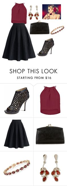 """""""Untitled #1174"""" by janicemckay ❤ liked on Polyvore featuring Emy Mack, Boohoo, Chicwish, Judith Leiber, Ross-Simons, NOVICA, women's clothing, women's fashion, women and female"""