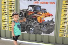 Monster Truck Birthday Party Ideas   Photo 1 of 17   Catch My Party