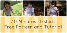 FREE SEWING PATTERN: T-SHIRT FOR KIDS