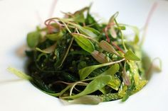 whats better than seaweed salad and micro greens =)