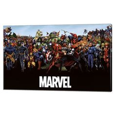 Show the entire Marvel Universe of Superheroes on your wall with this awesome poster. How many superheroes can you name in it? To make the poster last, consider one of these options: Get It Laminated