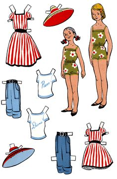 NEW! Reluctant Cousins Paper Dolls