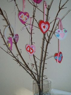 love hearts kids crafts - Google Search