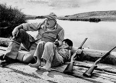 Robert Capa, Ernest Hemingway, Sun Valley, Idaho