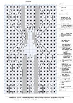 узор паук спицами схема: 26 тыс изображений найдено в Яндекс.Картинках