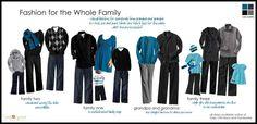 Family attire for Fall Photo