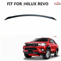 CITYCARAUTO Front Hood Bonnet Grill Lip Molding Cover Trim Bar fit for hilux revo